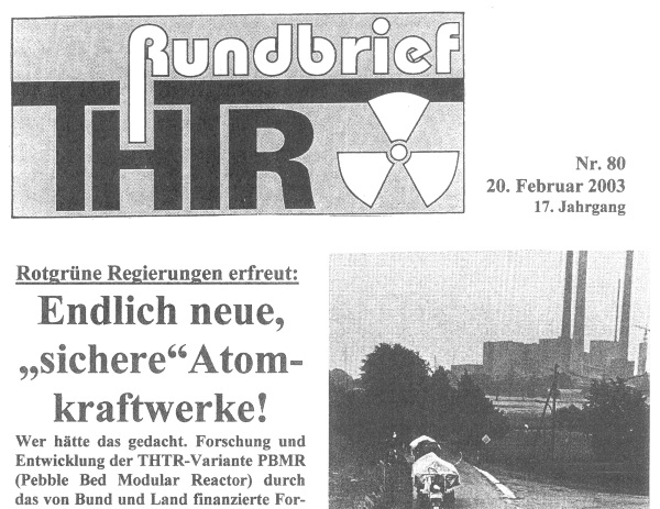 THTR-Rundbrief