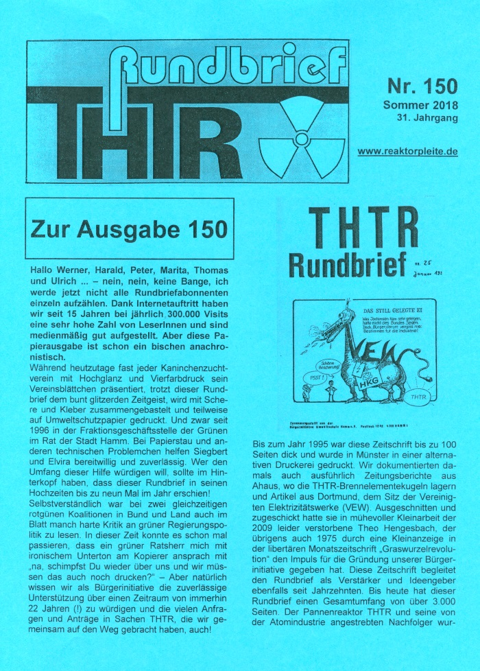 THTR-Rundbrief Nr. 150