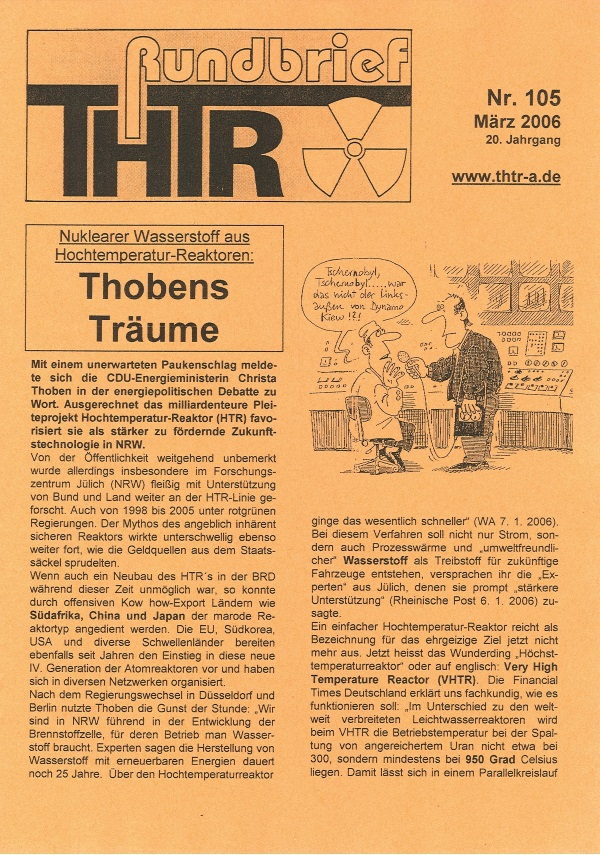THTR-Rundbrief Nr. 105