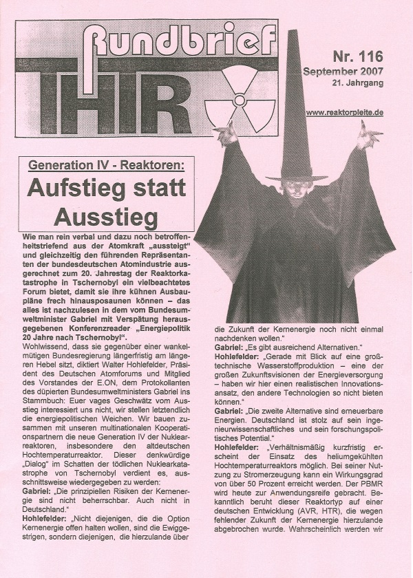 THTR-Rundbrief Nr. 116