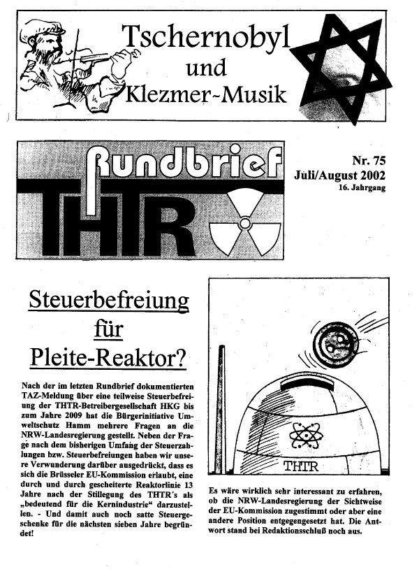THTR-Rundbrief Nr. 75