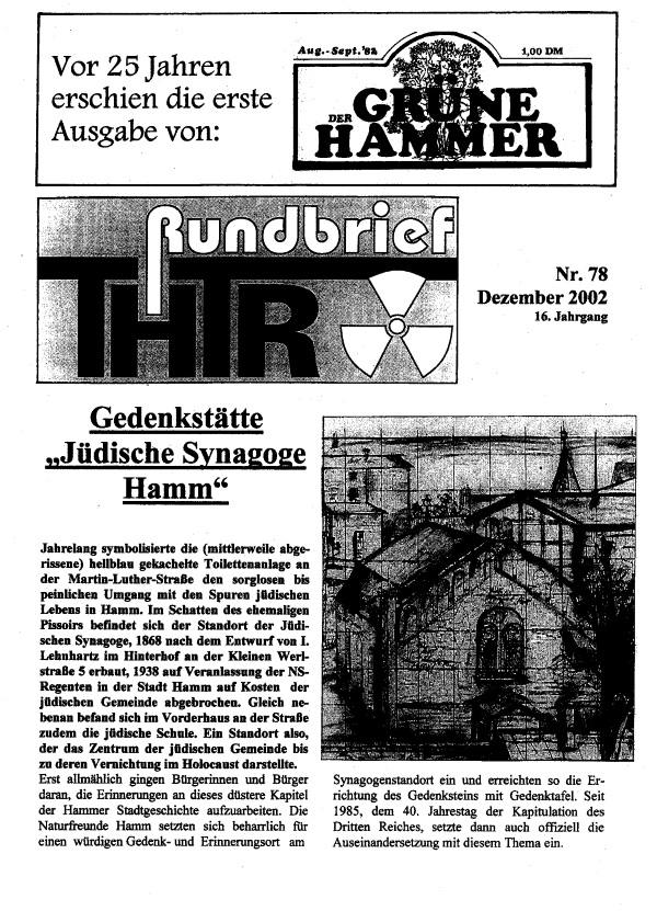 THTR.Rundbrief Nr. 78