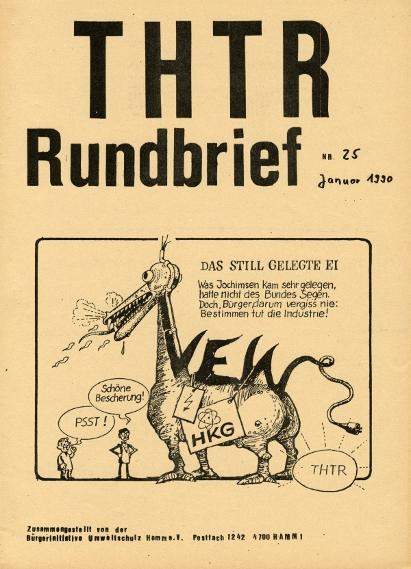THTR-Rundbrief Nr. 25