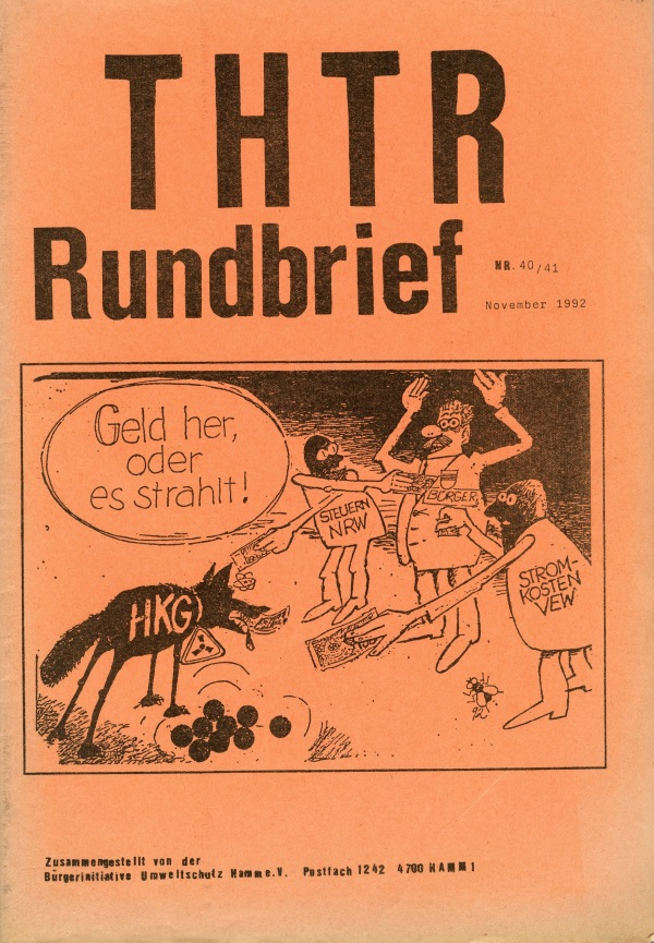 THTR-Rundbrief Nr. 40/41